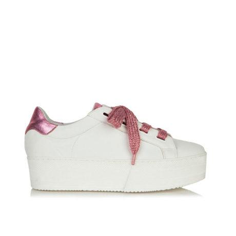 grumman sneaker 99051 ροζ