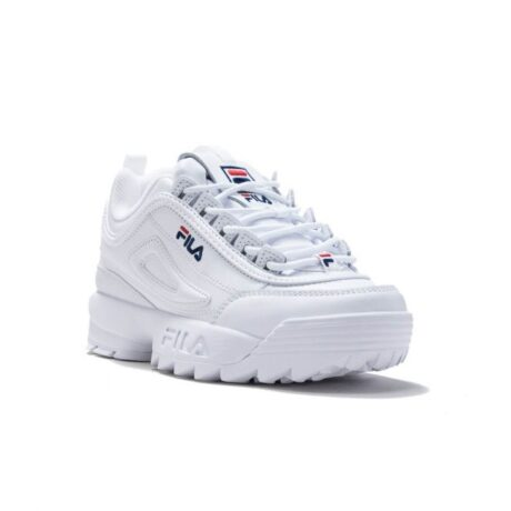 fila sneaker δέρμα λευκό
