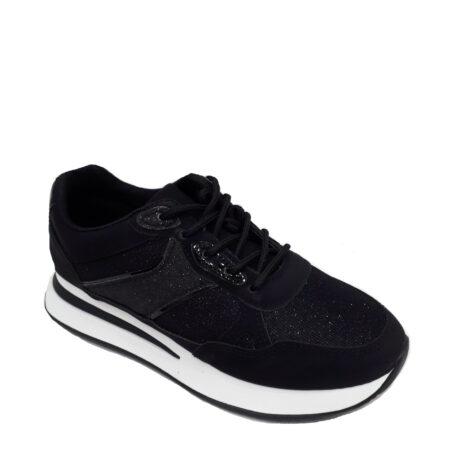 karidas sneaker Y347 μαύρο