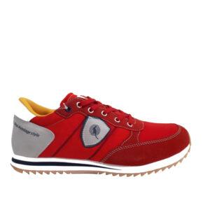canguro-sneaker-519-kokkino
